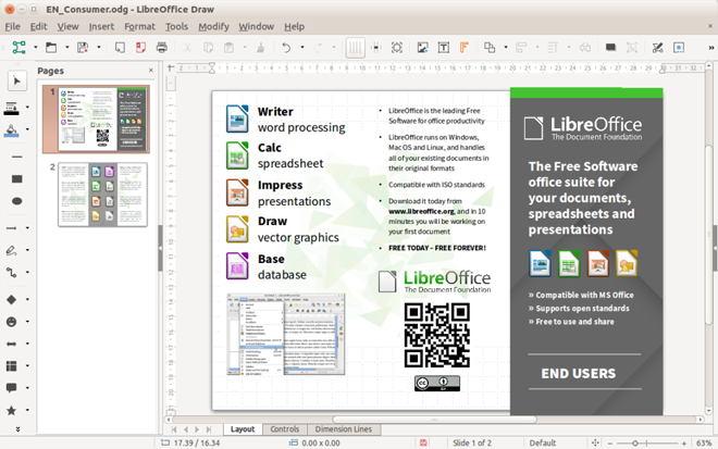 LibreOffice para Linux