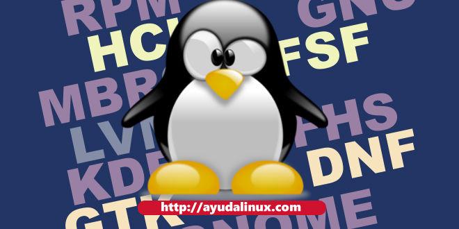 Siglas en Linux