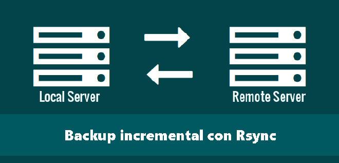 Cómo hacer backup incremental con Rsync