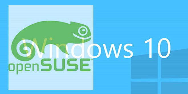 Cómo instalar openSUSE en Windows 10