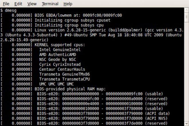 Identificar hardware en Linux