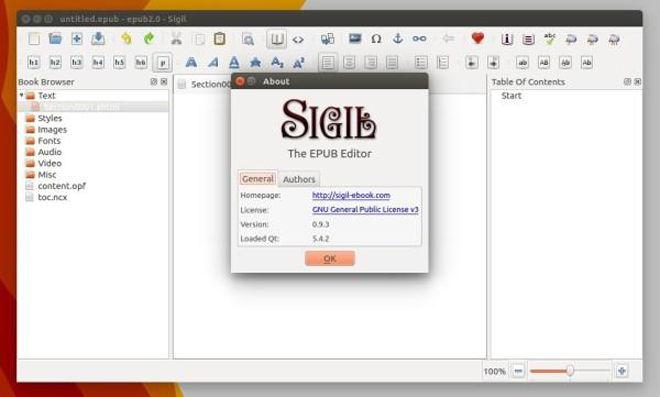 Cómo instalar Sigil