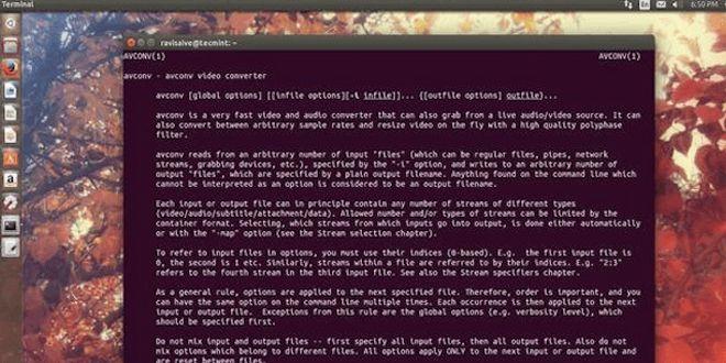 Photo of 11 comandos Avconv para grabar, convertir y extraer vídeos y audio en Linux