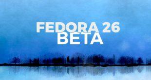 Fedora 26 Beta