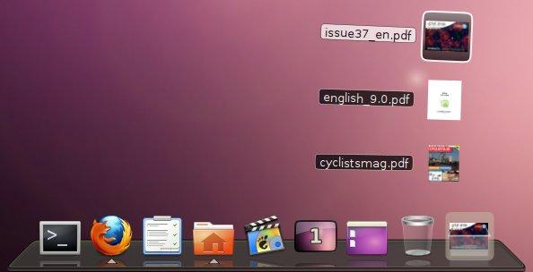 dock AWN para Linux