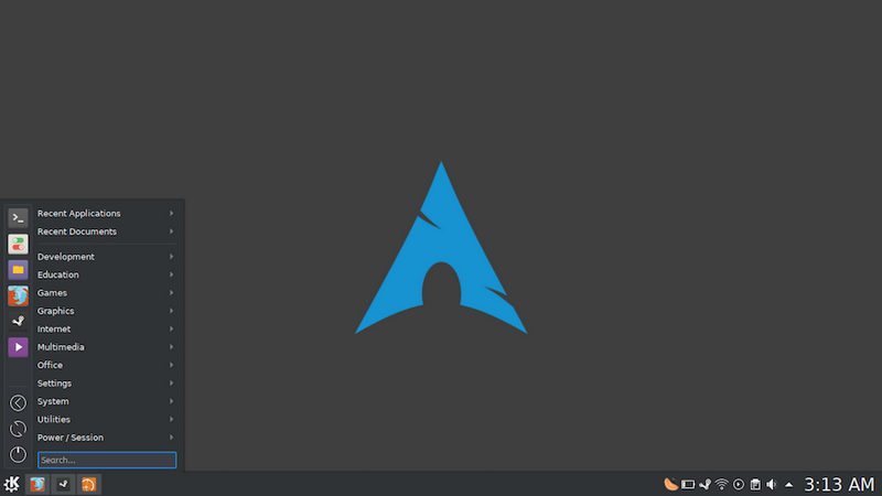 Arch Linux 2017.11.01
