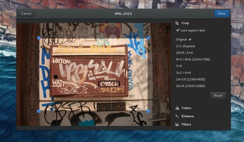 Photo of GNOME mejora su herramienta de edición de fotografias