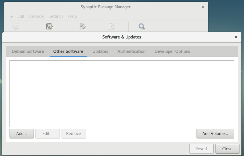 Administrador de paquetes Debian