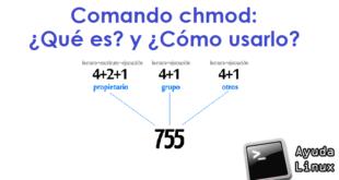 Comando chmod: ¿Qué es? y ¿Cómo usarlo?