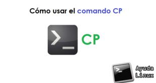 Cómo usar el comando CP
