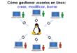 Como gestionar usuarios en Linux - crear, modificar, borrar