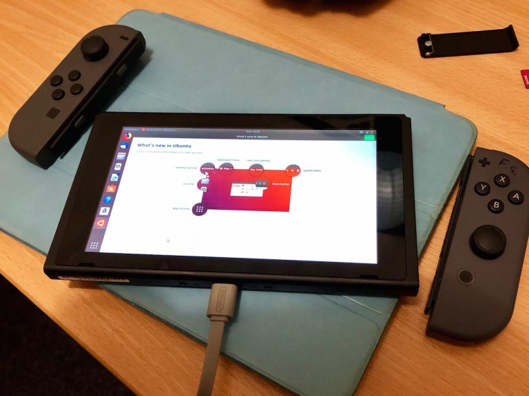 Photo of Logran ejecutar Ubuntu 18.04 en la Nintendo Switch