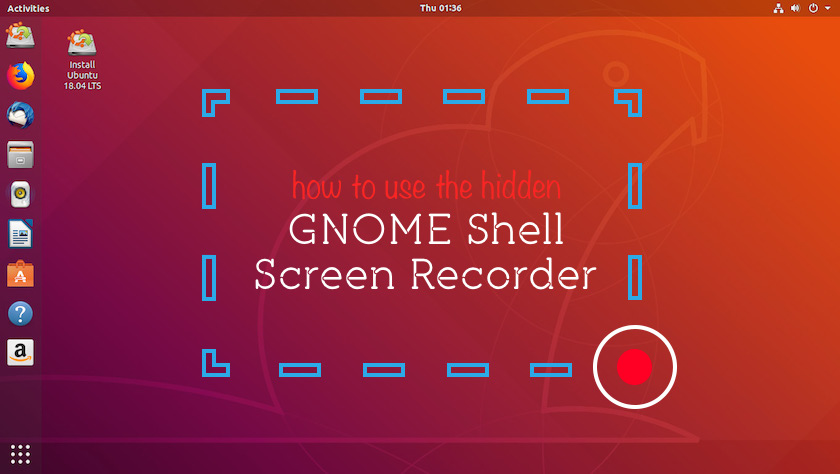 Gnome Shell Screen Recorder