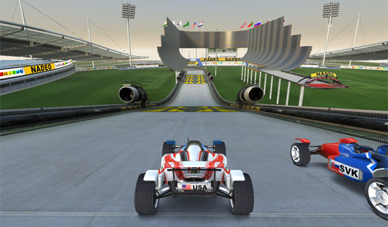 Photo of TrackMania Nations Forever ya disponible en Ubuntu