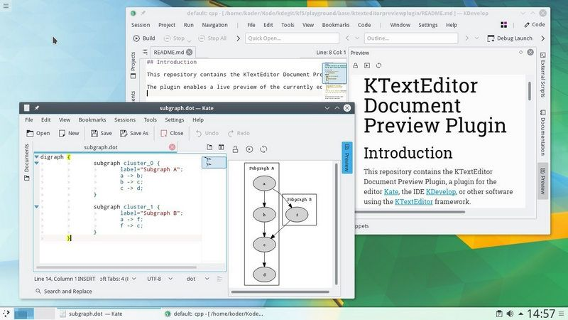 Photo of KDE Applications 18.04 llega al final de su ciclo, KDE Apps 18.08 en agosto
