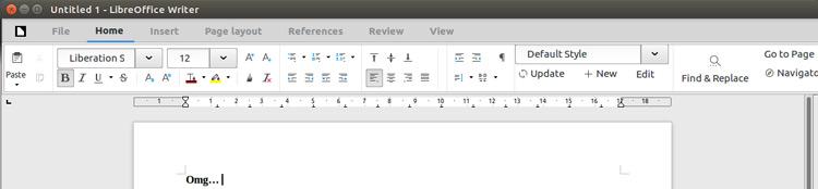 LibreOffice 6.1