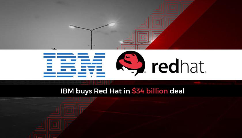 Photo of IBM se hace con Red Hat por 34.000 millones de dolares