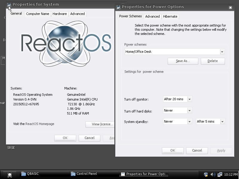 ReactOS 0.4.10