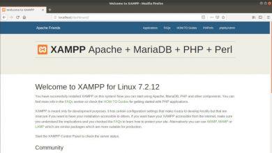 Localhost funcionando con Xampp