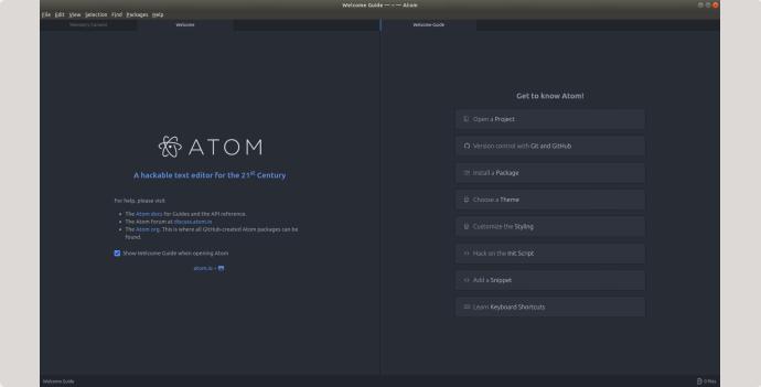 editor de codigo Atom,io