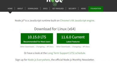 instalar node.js en ubuntu