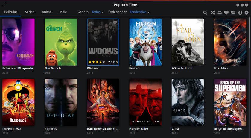 Cómo instalar Popcorn Time en Ubuntu 18.04