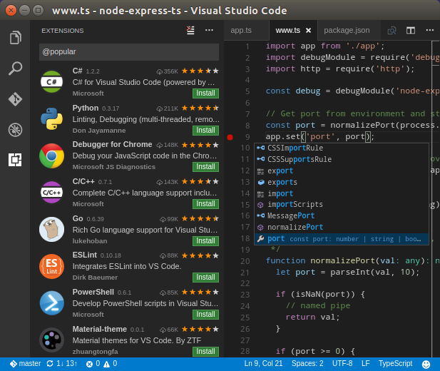 VS Code para Linux