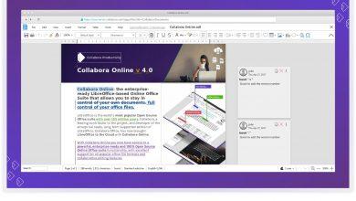 Photo of Collabora Online 4.0 ya esta aquí con muchas mejoras y nuevo diseño