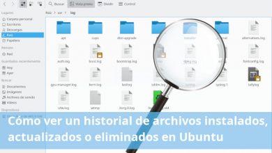 historial de actividad en linux