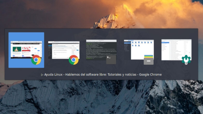 Configurar el atajo de teclados para navegar entre aplicaciones
