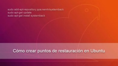 Photo of Cómo crear puntos de restauración en Ubuntu