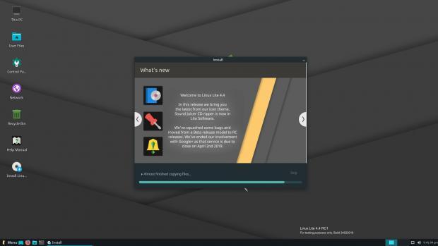 Linux Lite 4.4