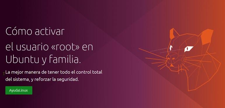 cómo activar el usuario root en Ubuntu