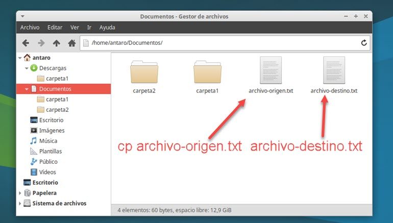 copiar archivos en mismo directorio