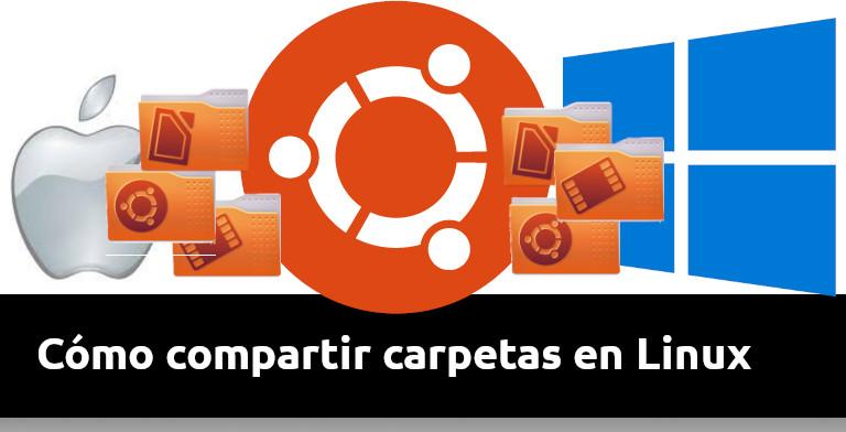 como compartir carpetas en linux