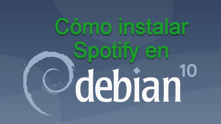 Instala Spotify en Debian