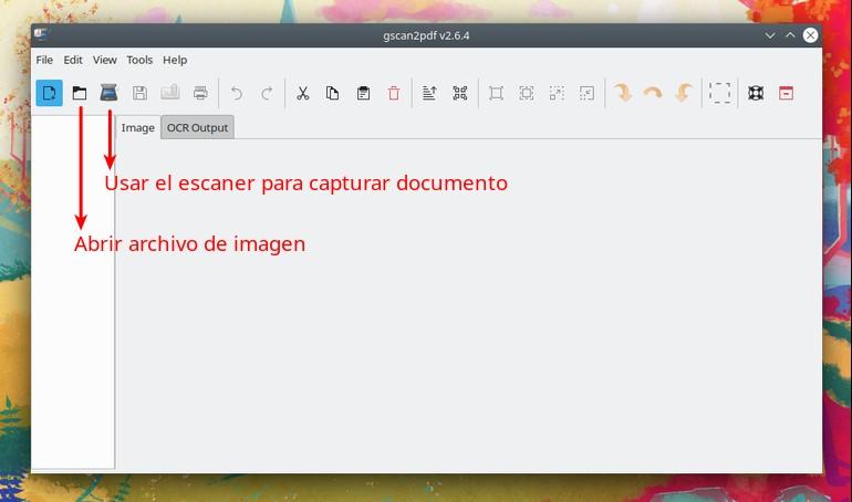 Gscan2pdf software