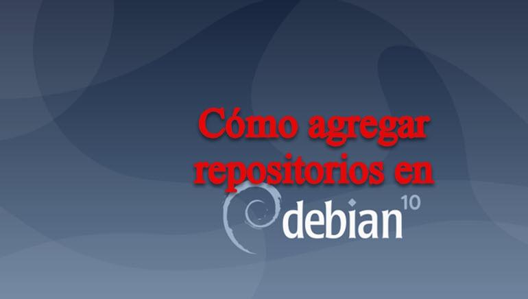 agregar repositorios en Debian