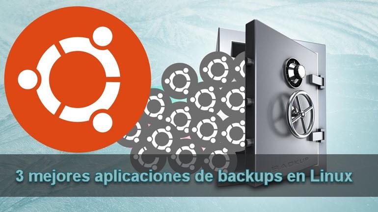 3 mejores aplicaciones de backups en Linux